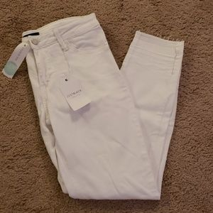 Womens 28P White Jeans